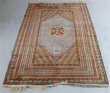 FINELY WOVEN ORIENTAL RUG WITH APPROX. 13
