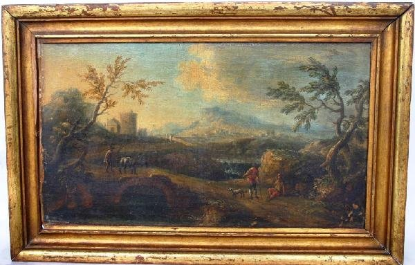 18: OIL ON CANVAS 17TH C. OLD RELINED CONDITION