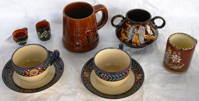 2: LOT TO INCLUDE TWO QUIMPER CUP & SAUCES