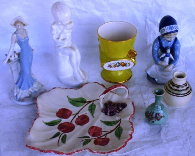 4: LOT OF 7 MISC. PORCELAIN ITEMS TO INCLUDE