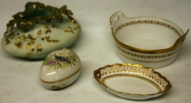 2: PORCELAIN LOT TO INCLUDE 3 PCS. OF LIMOGES,
