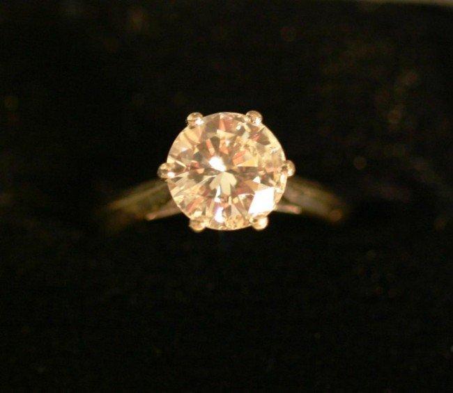 167F: ESTATE 2 CT. DIAMOND SOLITAIRE RING,