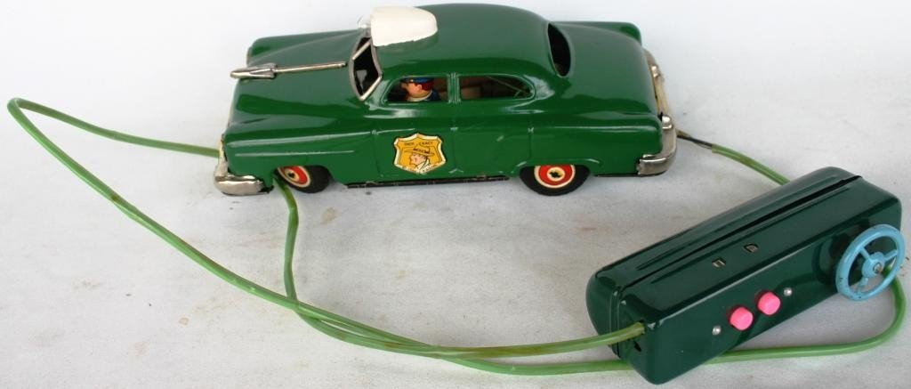 1: LITHO TIN REMOTE CONTROL DICK TRACY CAR
