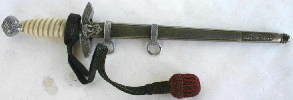 106: LUFTWAFFE GERMAN WWII OFFICER'S DAGGER WITH