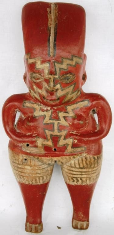 37: PRE-COLUMBIAN STYLE FEMALE FIGURE
