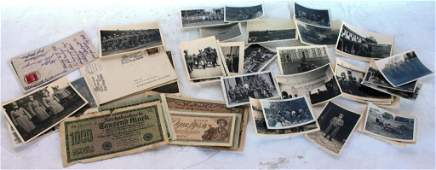 312A COLLECTION OF WWII GERMAN EPHEMERA