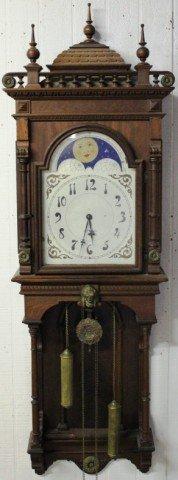 177: RARE SETH THOMAS JUPITER WALL CLOCK,
