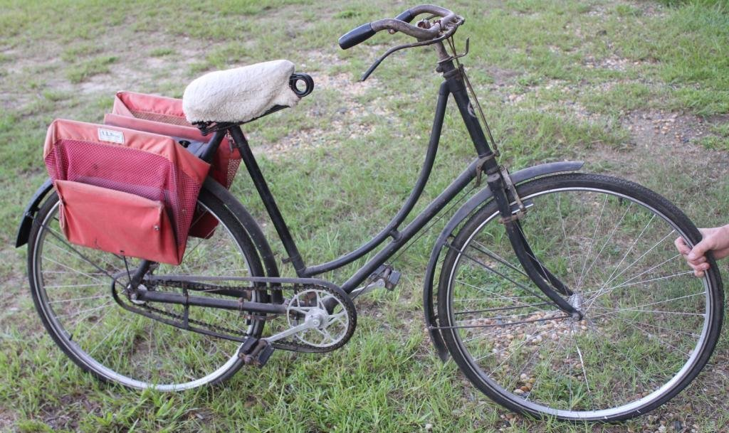 3: EARLY 20TH C. LADIES BIKE, AS FOUND CONDITION,