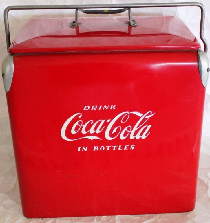 6: RESTORED COCA-COLA COOLER,