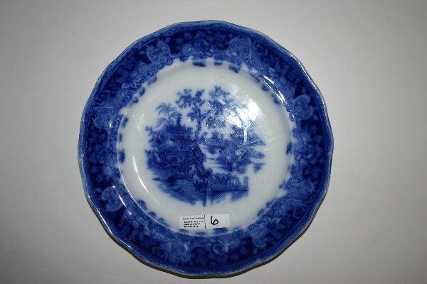 6: Flow Blue Plate