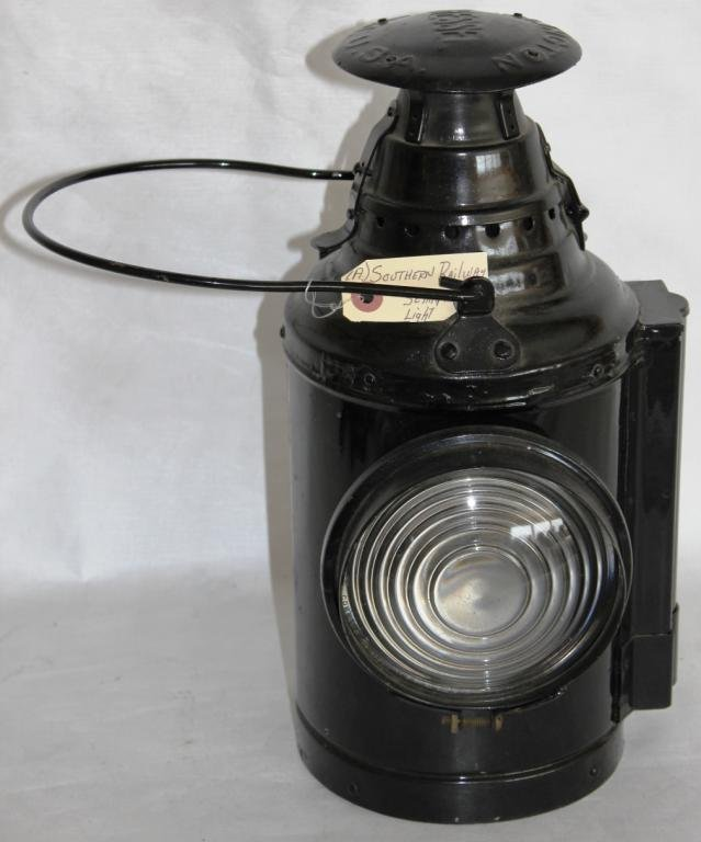 RESTORED DRESSEL RAIL ROAD LAMP WITH