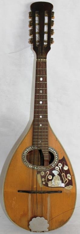 INLAID MANDOLIN, BY CATANIA CARMELO 1953,