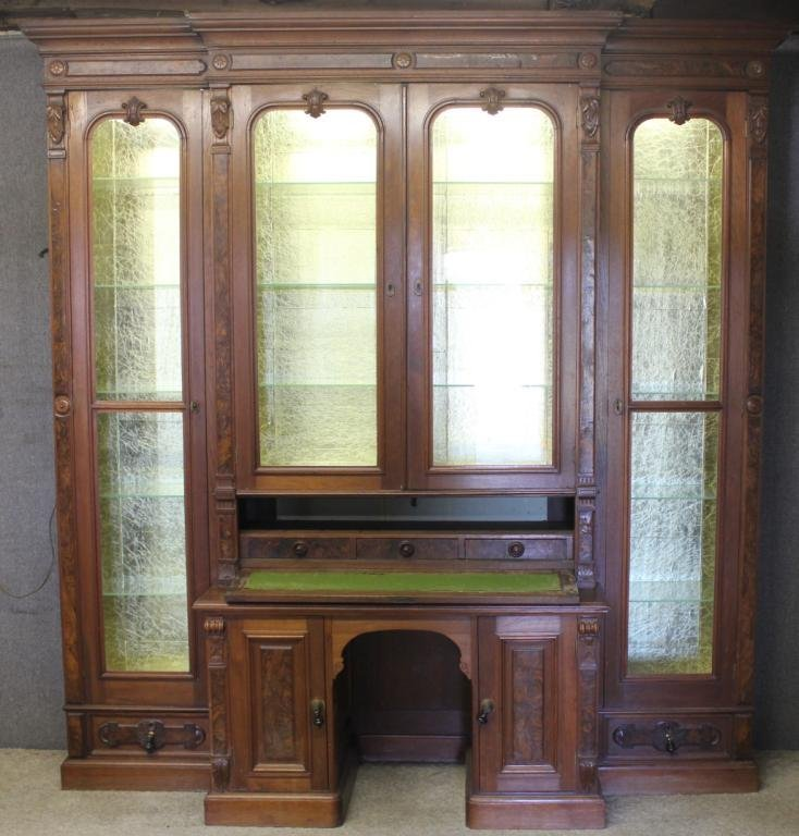 EXCEPTIONAL VICTORIAN & WALNUT DOUBLE SIDE BY SIDE