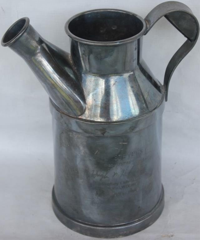 SILVER PLATED PRESENTATION PITCHER