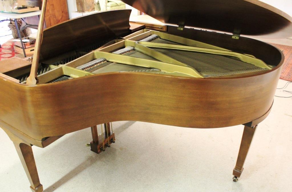 MAHOGANY BABY GRAND PIANO BY WHEELOCK, NY - 3
