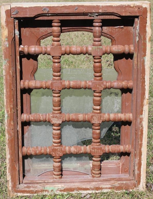 FRAMED WINDOW WITH DIVIDER