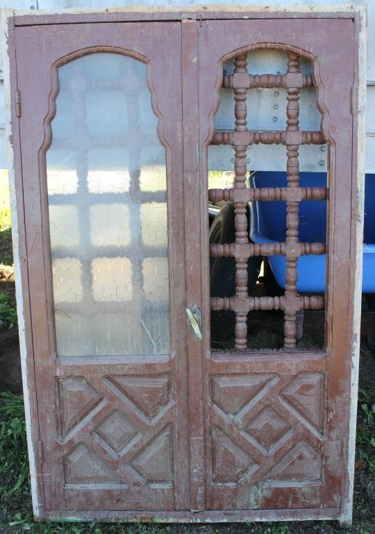FRAMED DOUBLE WINDOW WITH