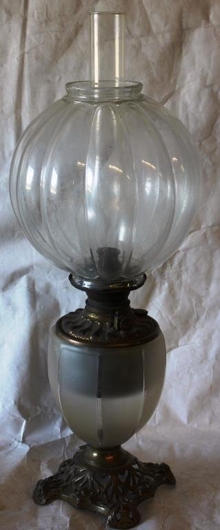 VICTORIAN GONE WITH THE WIND LAMP,