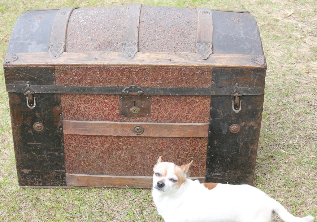 VICTORIAN DOME TOP TRUNK