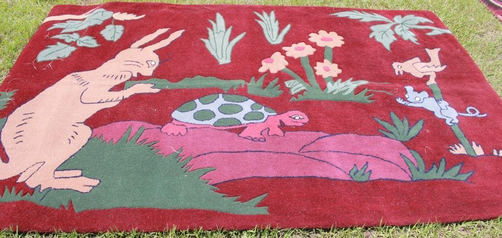 9' X 6' STORY BOOK RUG