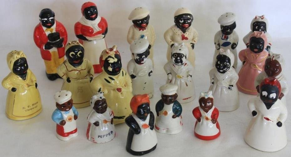 COLLECTION OF 20 AUNT JEMIMA & OTHER SALT SHAKERS