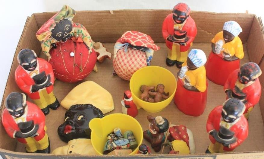 LOT OF CELLULOID & OTHER AUNT JEMIMA RELATED