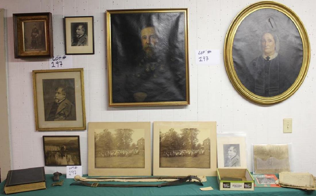 COLLECTION OF ITEMS RELATING TO GENERAL ARTHUR C.