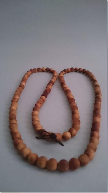 A Wooden Necklace