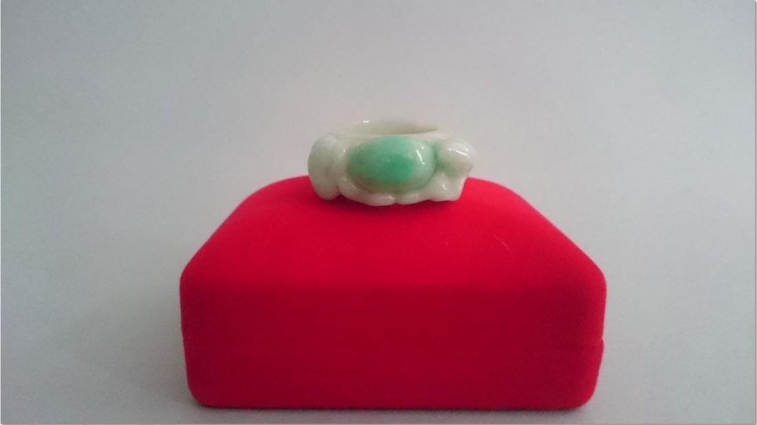 A Jadeite ring