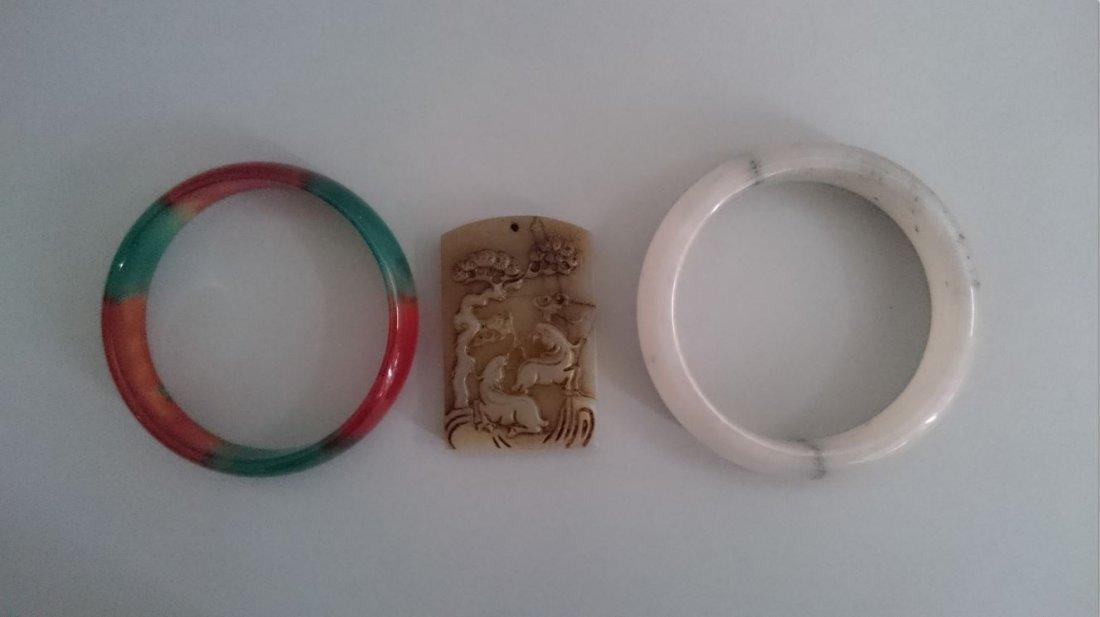 A Group of pendants