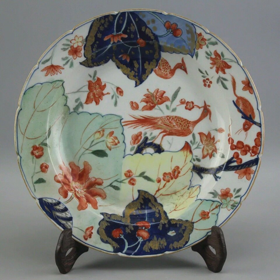 A Ching Famille Rose Plate