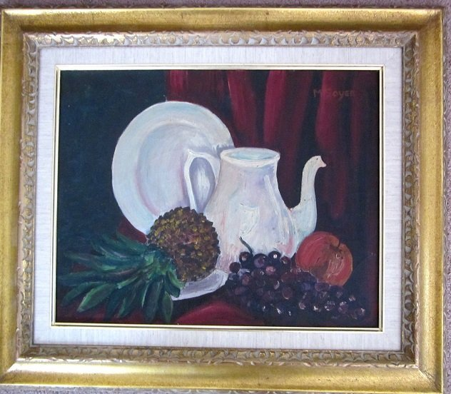 Beautiful Still Life signed M. Soyer