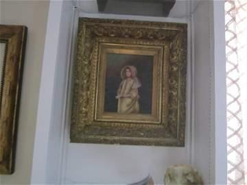 """AfterJohn Everett Millais""""ForTheGentleman""""oil on canvas"""