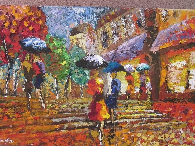 "Kosman,Shaul(Russia-Israel1945)""Paris When its Raining"""
