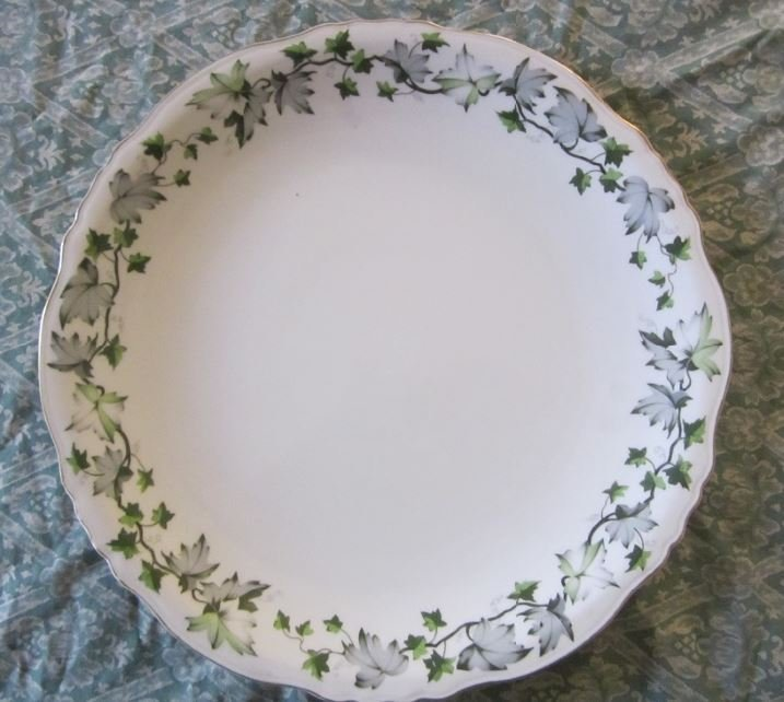 "Theodore Haviland China""Saratoga"" Serving Platter 12.5"""
