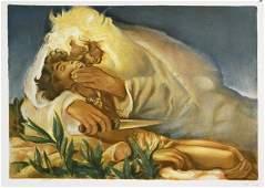 "Pann, Abel(Belarus,Israel b,1883)""THE AKEDAH"""