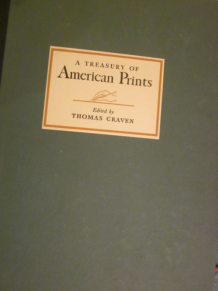 "Thomas Craven""A Treasury of American Prints"" Copyright"