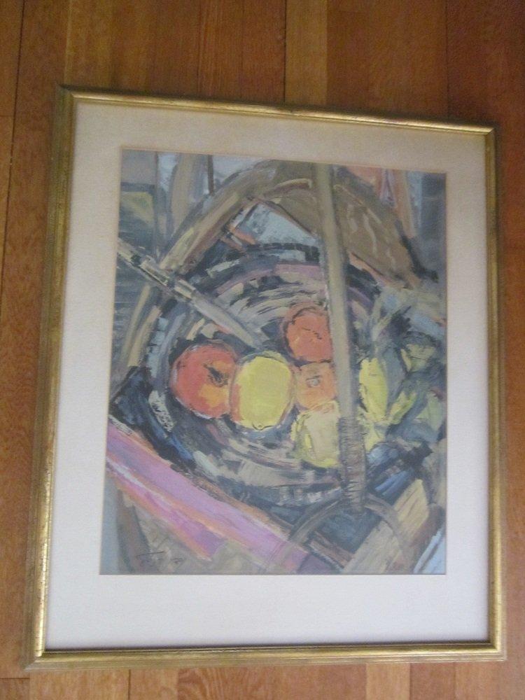 "Hedi Kandel "" .(Israel b.1912-2003)""Still Life"""