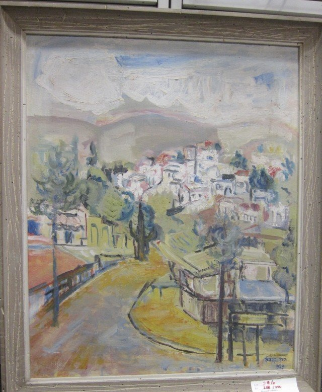 "Kandel,Hedi (Israel b.1912-2003)\""Village Vista"" O /C"
