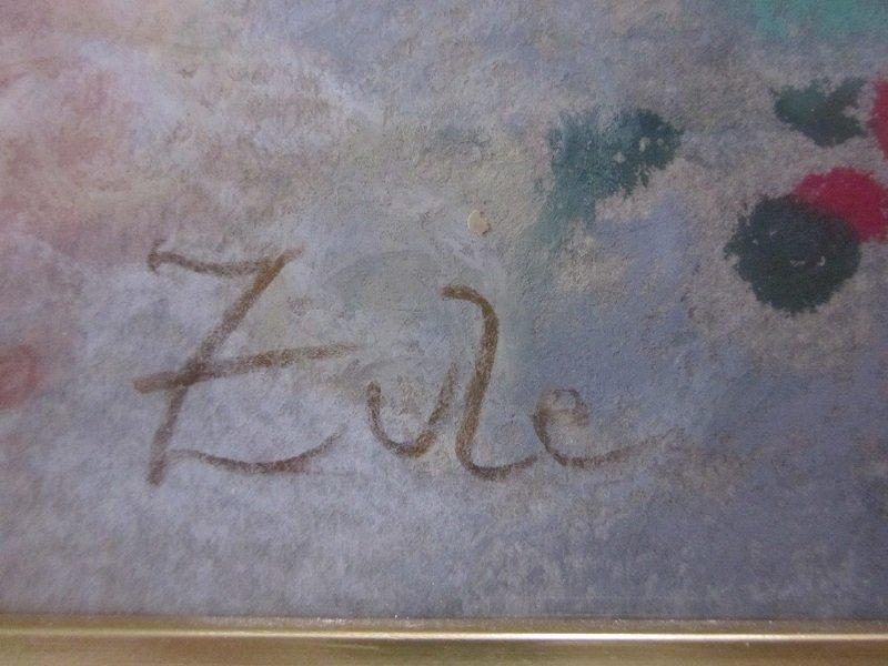 Zule Moskowitz(Argentina-Israel) ORIGINAL PAINTING - 2
