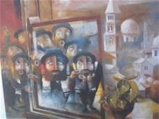 "Benjaimin Shiff""Minyan""Pencil Sig&Numb COA Jewish"