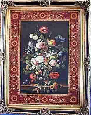 Wonderful 19th C Original Oil On Canvas Signed Austen