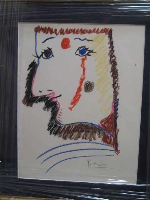 Exquisite Picasso Original Lithograph Hand signed by th