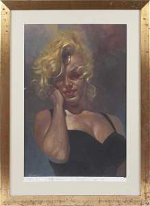 GIFTED RON WOOD FROM FAMOUS SEBASTIAN KRUGER (MARILYN)
