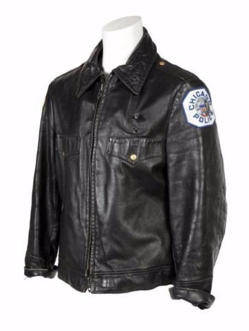 Ron Wood (Stones) Show Jacket Leather (Chicago Police)