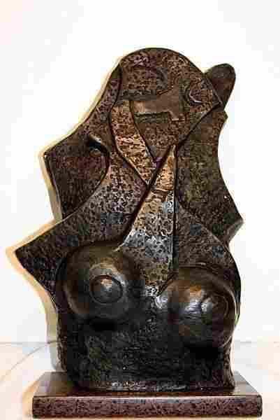 Very Rare Exceptional Pablo Picasso Bronze Female Nude