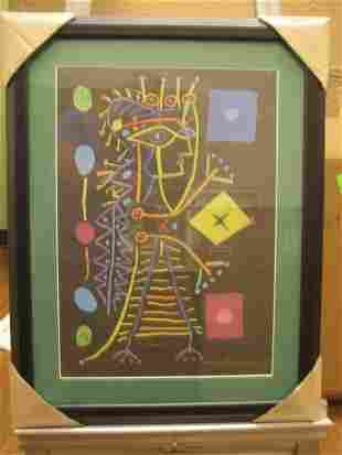 P Picasso Original Signed Jacqueline Black AP- COA