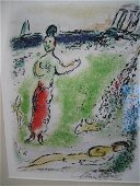Marc Chagall Signed From The Odyssey Suite