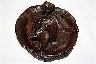 Edgar Degas Bronze Sculpture The Tub Very Rare EDIT