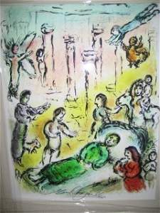 Marc Chagall Signed From The Odyssey Suite EDI